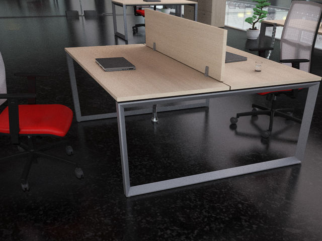 bureau bench 2 personnes spartacus usine bureau. Black Bedroom Furniture Sets. Home Design Ideas