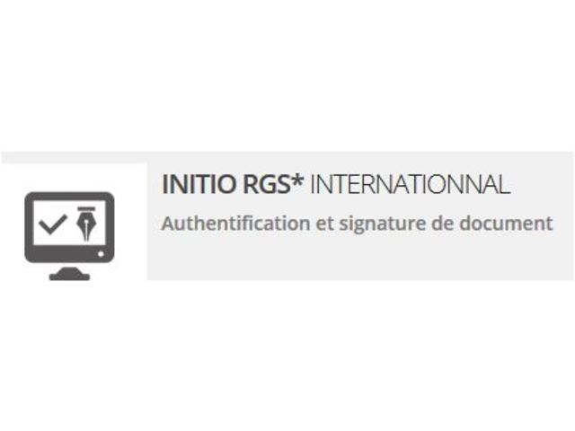 Certificat électronique Initio RGS International_CHAMBERSIGN France