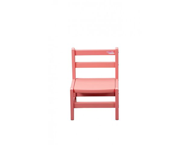 chaise basse laque rose2_combelle - Chaise Basse
