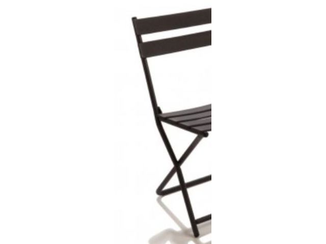 Chaise m tallique square guichard collectivit s - Chaise metallique design ...