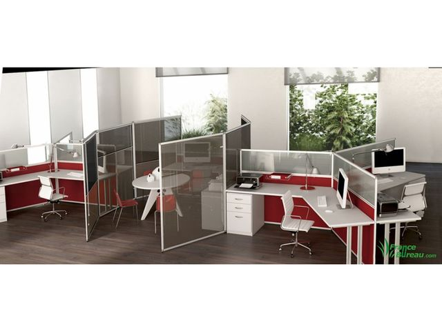 cloison de bureau cloisonnette france bureau. Black Bedroom Furniture Sets. Home Design Ideas