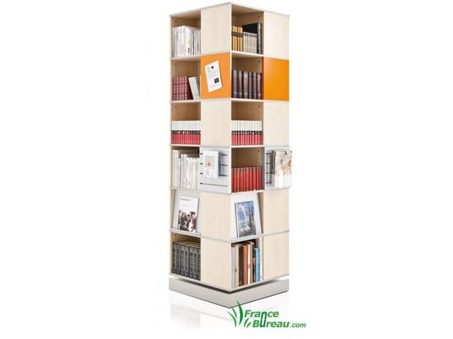 Colonne rotative classeurs et documentations france bureau for Colonne bureau