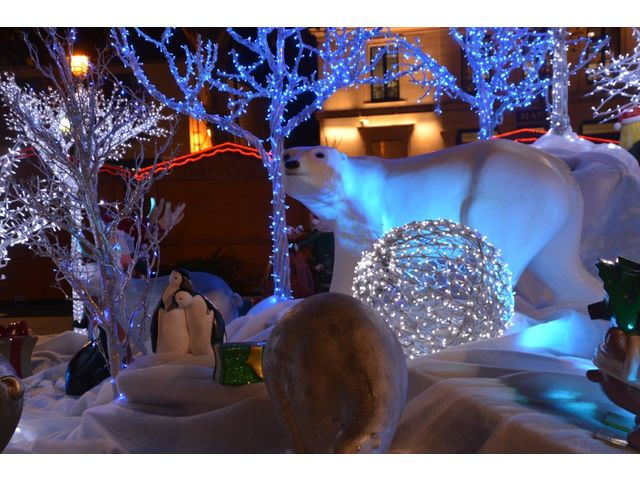 D corations ext rieures de no l clair de reve - Decorations de noel exterieures ...