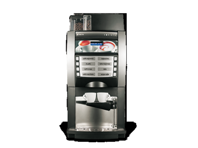 Machines caf grains de comptoir korinto lavazza saveur expresso - Machine a cafe design ...