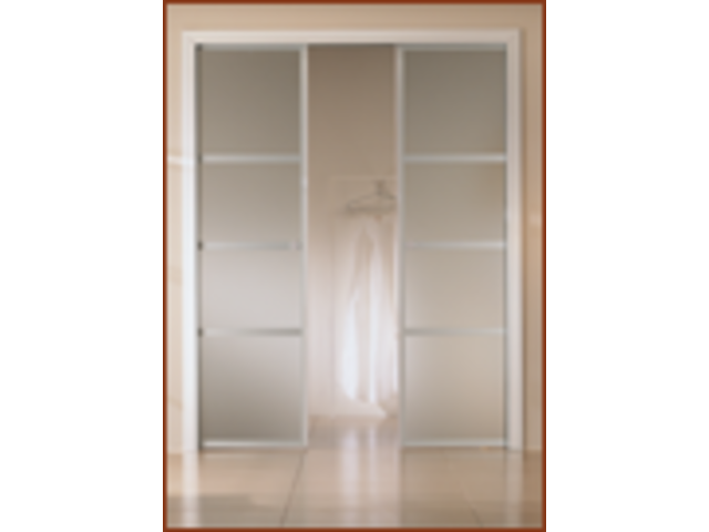 Porte coulissante isolante id es de conception sont int res - Double portes coulissantes ...