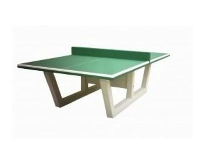 Table de ping pong en b ton dmc direct - Table ping pong exterieur beton ...