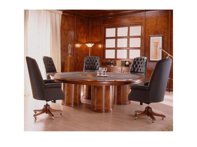 table de r union ronde ofifran altius mobilier. Black Bedroom Furniture Sets. Home Design Ideas