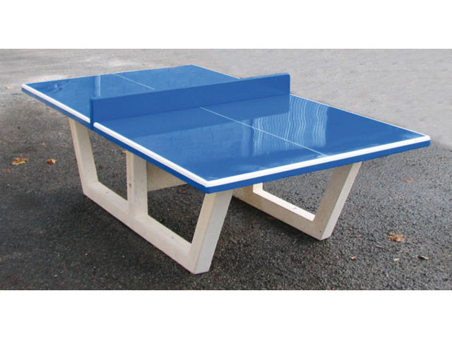 Table ping pong b ton vedif - Table de ping pong exterieur en beton ...