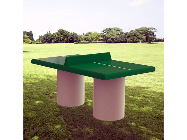 Table ping pong ext rieure b ton sourcing march s publics - Table ping pong exterieur beton ...