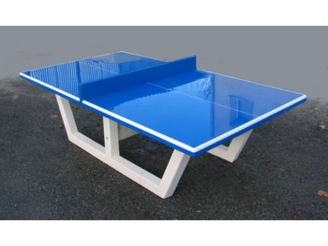 Table ping pong ext rieure sourcing march s publics - Fabriquer une table en beton ...