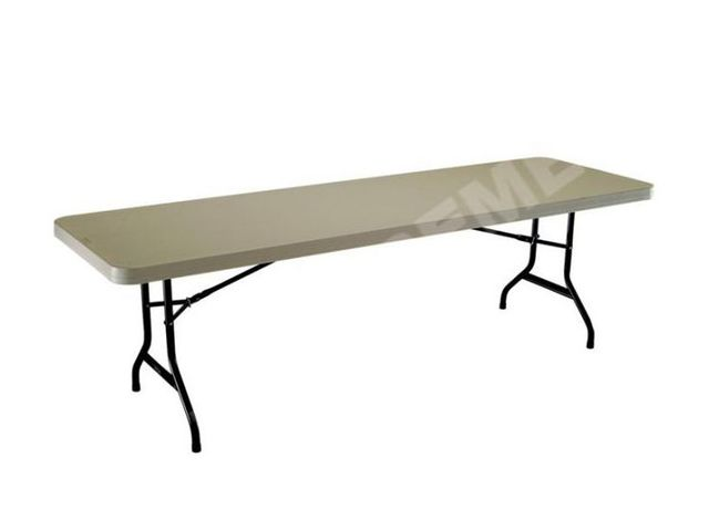 Table pliante lifetime 244x76cm poly equipements for Lifetime table pliante