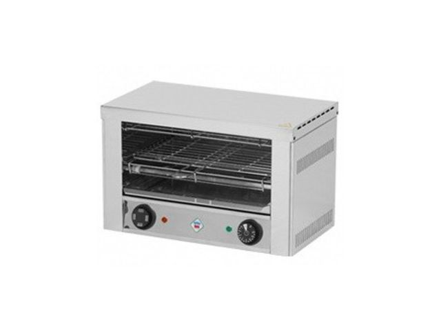 Toaster 1 grille 2 kw rm gastro stockresto for Fournisseur materiel professionnel restauration