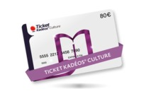 Carte cadeau Ticket Kadéos® Culture