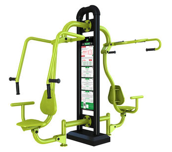 Equipement de fitness outdoor : Push and pull multiprises_FREETNESS ENERGY