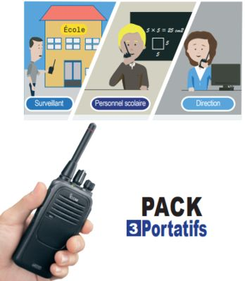 Pack PPMS 1 - ICOM FRANCE suite