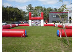 Terrain de rugby gonflable